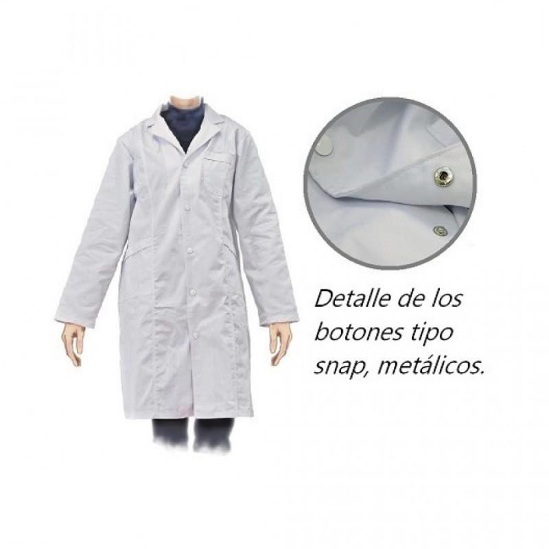 Bata caballero algodón/poliester. talla L