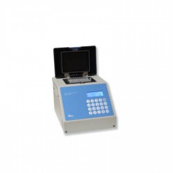 Tira 8 cubetas PCR 0.2 ml.sin tapón.azul c/10 x 125