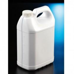 Matraz aforado clase A vidrio transparente con tapón de plástico 1000 mL C/2 Unds
