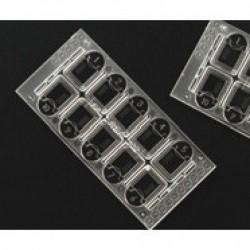 Tubo Aquisel vacío sin etiqueta 55x16 mm 5 ml c/1000