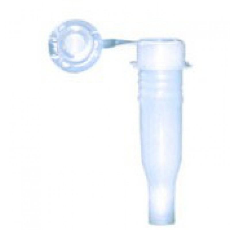 Cubeta vidrio semi-micro con tapón 10 mm. 2 Unds